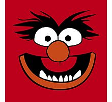 Animal Muppet (Orange Lips&Nose) Photographic Print