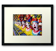 A Real Head Turner in Sideshow Alley Framed Print