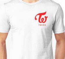 Twice Logo Red Unisex T-Shirt