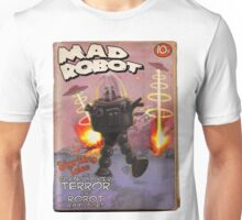 Mad Robot Fake Pulp Cover Unisex T-Shirt