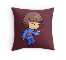 Frisk Throw Pillow