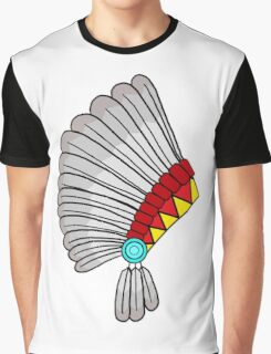 Indian Headdress Graphic T-Shirt