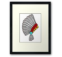 Indian Headdress Framed Print