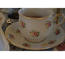 teacup Photographic Print
