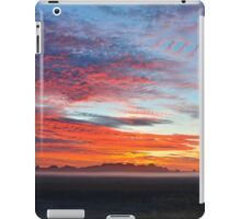 Fog Over The Fields iPad Case/Skin