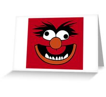 Animal Muppet (Crazy) Greeting Card