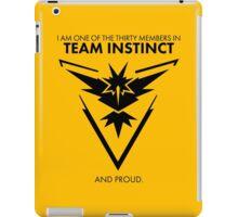 Proud of the team <3 iPad Case/Skin