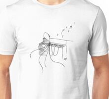 Octopus Playing a Piano Unisex T-Shirt