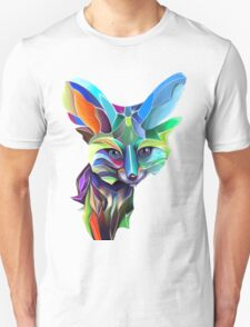 Kaleidoscope Fox; geometric poetry  Unisex T-Shirt