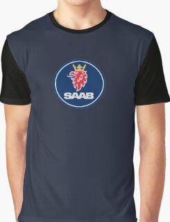 SAAB Badge Graphic T-Shirt