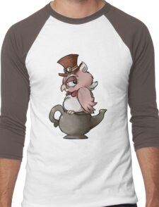 Steampunk Owl Men's Baseball ¾ T-Shirt
