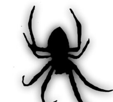 Creepy Black Spider 2 Sticker
