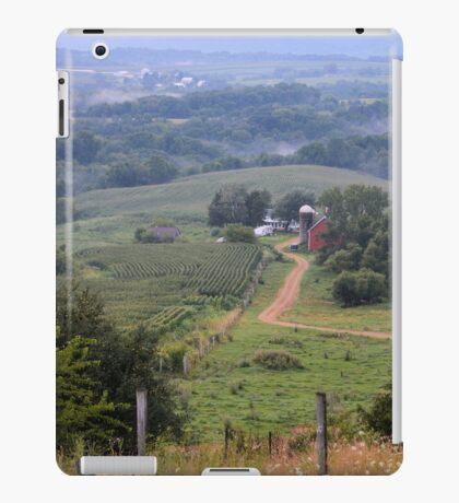 Valley Farm Portrait iPad Case/Skin