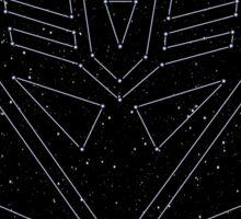 Stars Transformers Decepticon Sticker