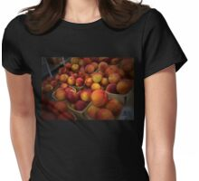 Peaches In Baskets Womens Fitted T-Shirt