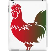 Rooster 578 iPad Case/Skin
