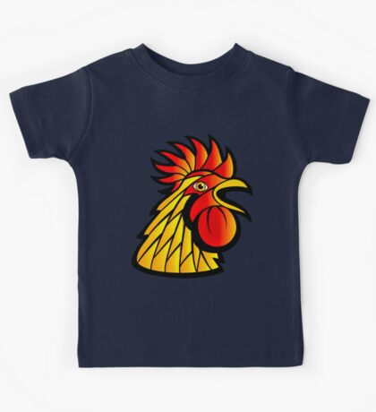 Rooster Head Kids Tee