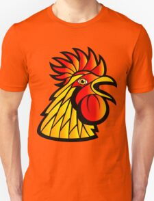 Rooster Head Unisex T-Shirt
