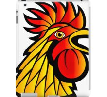 Rooster Head iPad Case/Skin