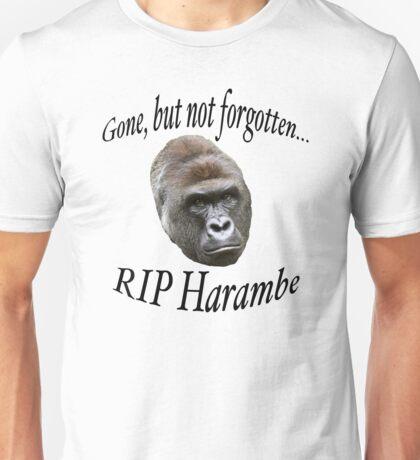 Gone, But Not Forgotten Unisex T-Shirt