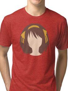 Minimalist Haruhi Suzumiya Tri-blend T-Shirt