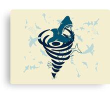 Sharknado Canvas Print