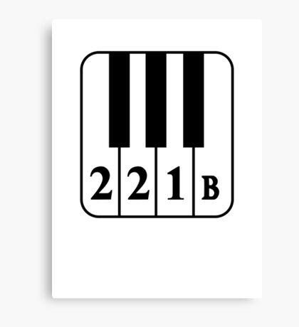 221 B Natural Canvas Print