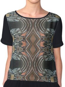 Dust on the Lens--Karma Tapestry Chiffon Top