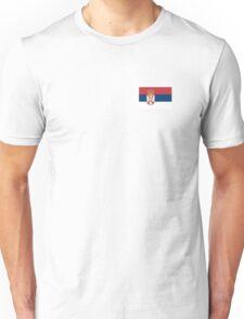 Serbia Flag Unisex T-Shirt