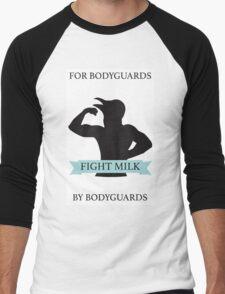 Fight Milk!  Men's Baseball ¾ T-Shirt