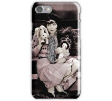 Clara on the Stairs with Toys iPhone Case/Skin