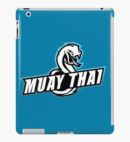 muay thai viper badge logo thailand snake fighter iPad Case/Skin