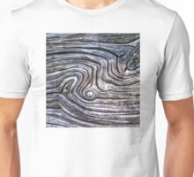 Woodgrain Whorls Unisex T-Shirt