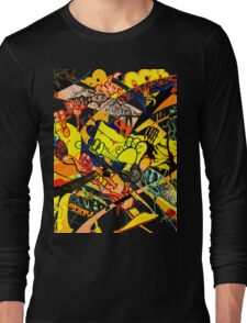 Gravity Painting Long Sleeve T-Shirt