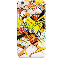 Gravity Painting iPhone Case/Skin