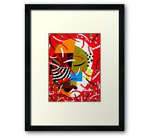 On Block 1 Framed Print