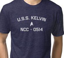 USS Kelvin - Starfleet Academy Tri-blend T-Shirt