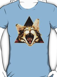Kitten Triangle T-Shirt