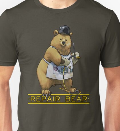 Repair Bear - Grizzly Unisex T-Shirt