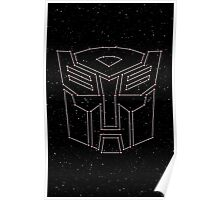 Stars Transformers Autobots Poster