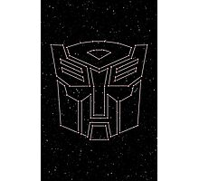 Stars Transformers Autobots Photographic Print