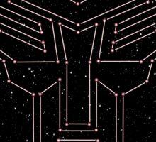 Stars Transformers Autobots Sticker