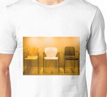 3 Chairs Unisex T-Shirt