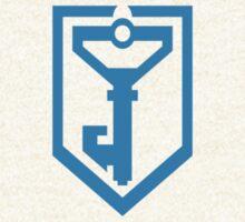 Ingress Resistance Logo over left Breast - Blue by tseven