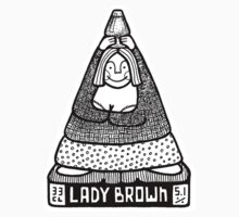 Lady Brown Baby Tee