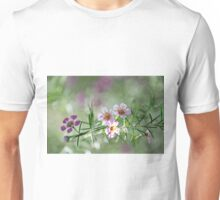 Pink and purple nature Unisex T-Shirt