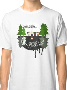 The Upside Down - Stranger Things Classic T-Shirt
