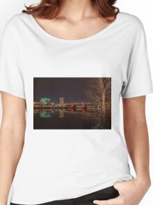 The Eastbank Esplanade in Portland, Oregon Women's Relaxed Fit T-Shirt