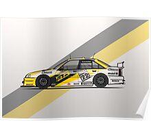 Opel Omega A Irmscher Evo 500 ATS DTM Touring Car Poster