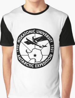 miskatonic university antarctic expedition logo Graphic T-Shirt